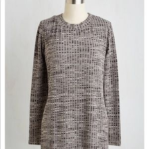 ModCloth Grey Sweater Style Tunic